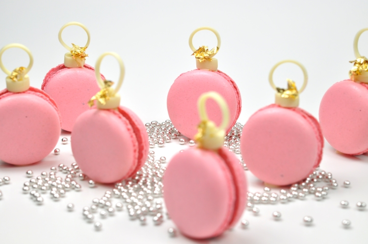 pink macaron handbags