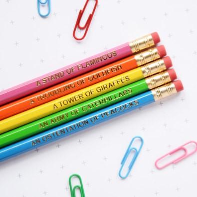 Collective noun pencils