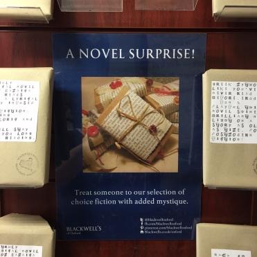 Blackwells a Novel surprise