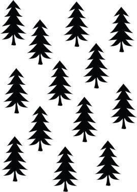 monochrome-christmas-tree-2