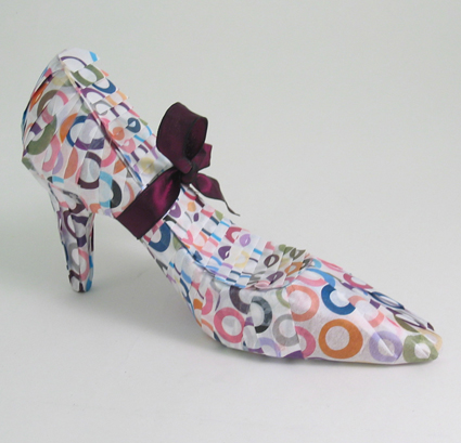 Gift Wrapped Shoe