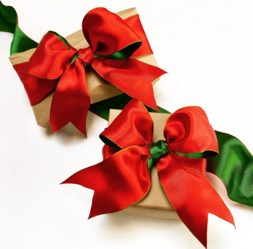 Costco Red and Green Ribbon